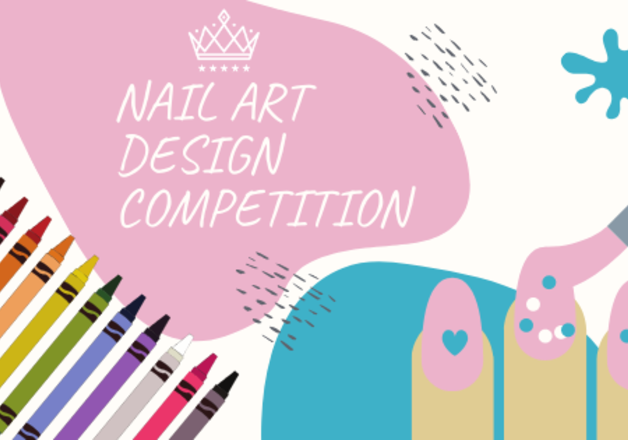 KIDS NAIL ART DESIGN COMPETITION image